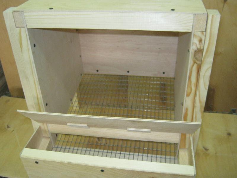 Как сделать гнездо для курицы хитрое гнездо для кур